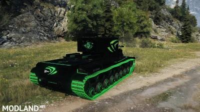 """KV-5 """"Nvidia-Style black"""" 1.1 [1.0.1.1], 5 photo"""